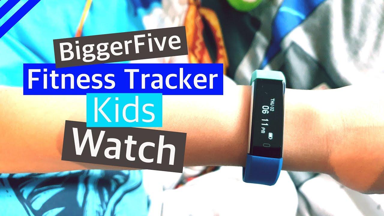 Kids Fitbit Unboxing Biggerfive Fitness Tracker Watch Youtube