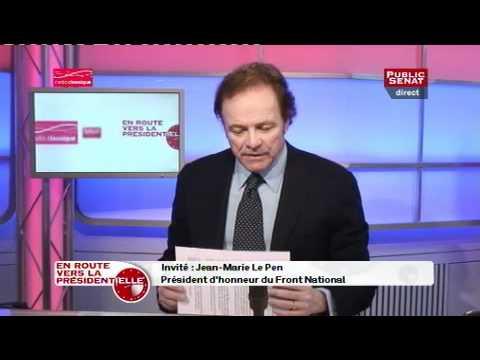En Route vers la Présidentielle, Jean-Marie Le Pen, 23/01/2012