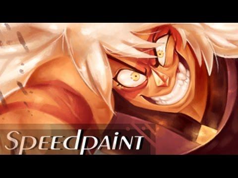 Jasper SPEEDPAINT (Steven Universe) THE BIG BUFF CHEETO PUFF!!!
