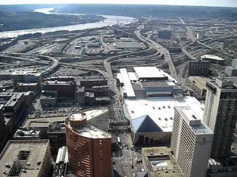 View From Cincinnati Carew Tower