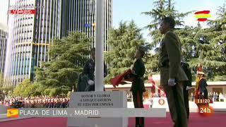 Himno de España - 12 de octubre, Día de La Fiesta Nacional Española