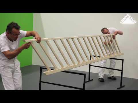 Cómo instalar una escalera recta · LEROY MERLIN