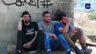 قرية النبي صالح تشيع شهيدها الشاب عزالدين التميمي الذي اغتالته قوات الاحتلال - (6-6-2018)