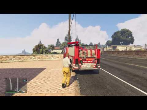 Los Santos Protection Agency Patrol #8 (I'm Fire)