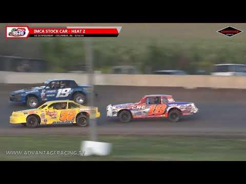 Stock Car Heats - US 30 Speedway - 9/14/19