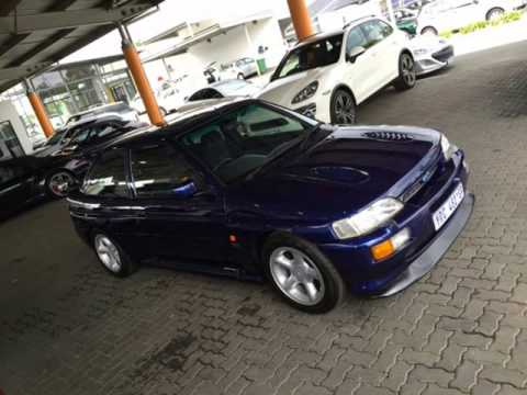 1992 ford escort rs cosworth collectors 1 of 4 auto for sale on auto trader south africa youtube. Black Bedroom Furniture Sets. Home Design Ideas