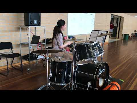Back In Black   ACDC   drum cover by Alice Jiao