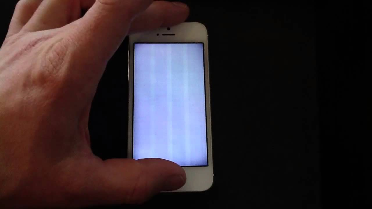 why did my iphone screen go black iphone 5 screen problem how to fix 5071