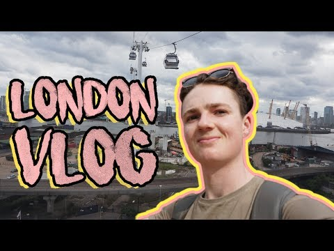 London Travel Vlog | Workout, Food & Cable Cars!