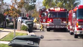 Dog & Cats Die In Costa Mesa House Fire - Christmas Tree Fire