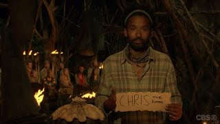 Survivor Ghost Island Wendells Voting Confessional to Chris