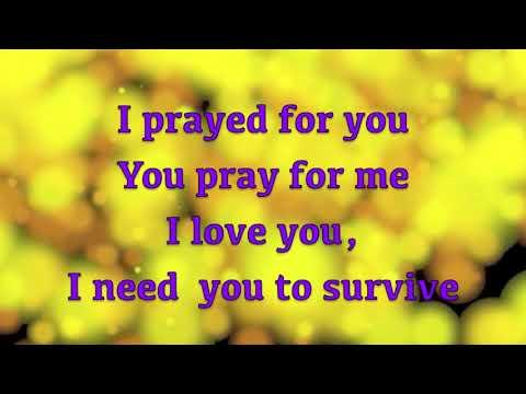 Hezekiah Walker   I Need You to Survive