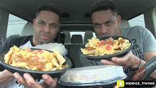 Repeat youtube video Eating Best Nachos In The World | Taco Bell NACHOS BELLGRANDE @Hodgetwins