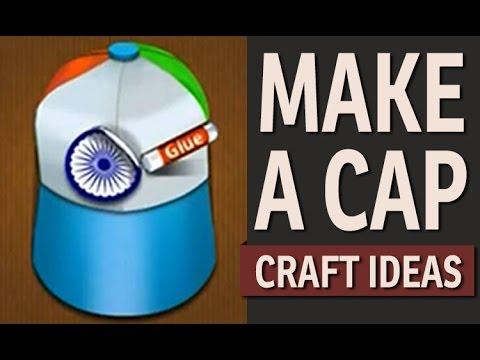 How To Make A Cap In 2 Minutes Paper Art And Craft Ideas Youtube
