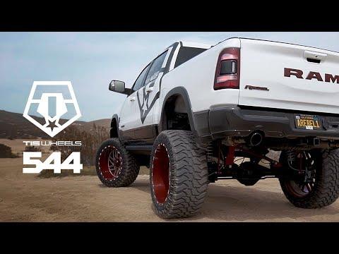 2019 RAM on custom 24x14 Red TIS 544