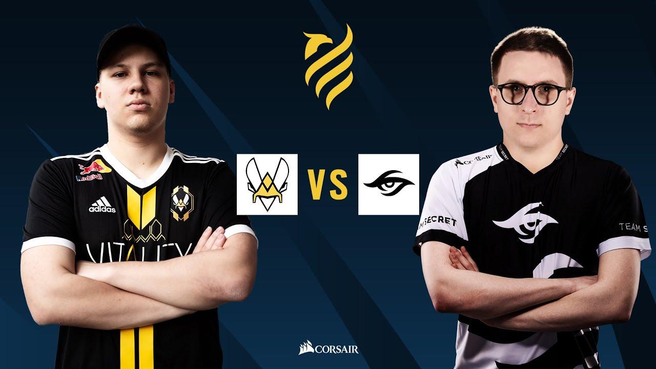 Team Vitality vs Team Secret // Rainbow Six European league - Playday #2