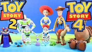 Toy Story 2 And Toy Story 4 Toy Collection ! Buzz Lightyear To The Rescue