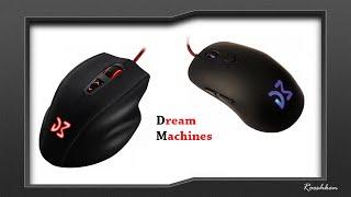 Dream Machines - Zwiastun testów myszek DM1 i DM2, oraz głośnika BT