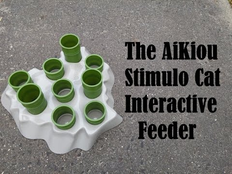 A Quick Look at the AiKiou Stimulo Cat Interactive Feeder