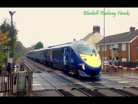 'The Regency Javelin' at Arundel & Angmering stations 12/11/16