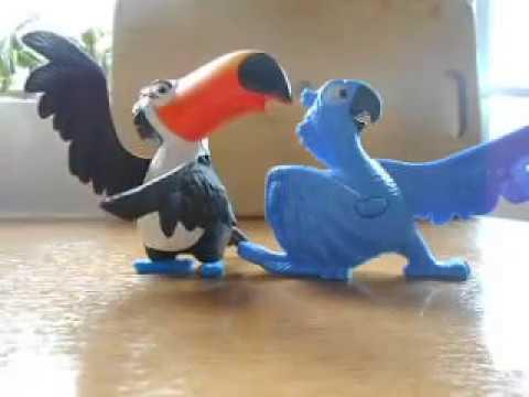 RIO Rafael and Blu McDonalds toys