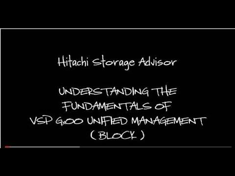 Get Started with Hitachi Storage Advisor - VSP Family - YouTube