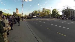 Репетиция парада победы, Донецк