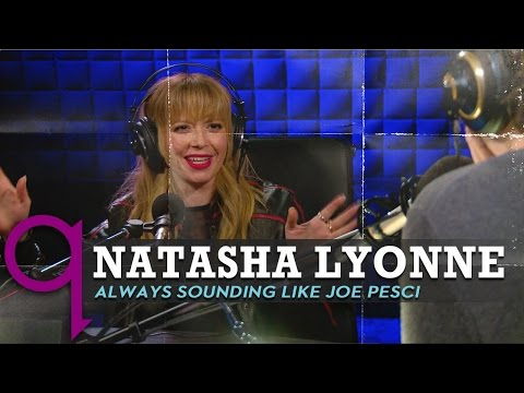 Natasha Lyonne on sounding like Joe Pesci