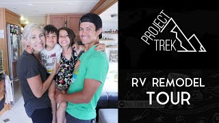 Gambar cover RV Tour: Family of 4 living in a Class A Motorhome