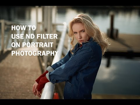 How to use ND filter on portrait photography