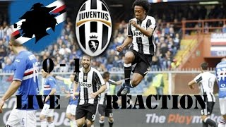 Sampdoria - JUVENTUS 0-1 # VOLA CUADRADO, VINCE LA JUVE!!! [LIVE REACTION]