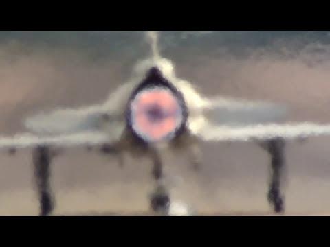 🇸🇪 The Amazing Saab Viggen at Waddington Airshow.