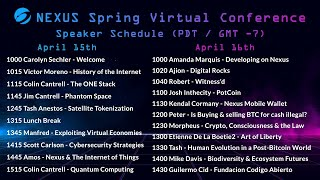Nexus Spring Virtual Conference Day 1