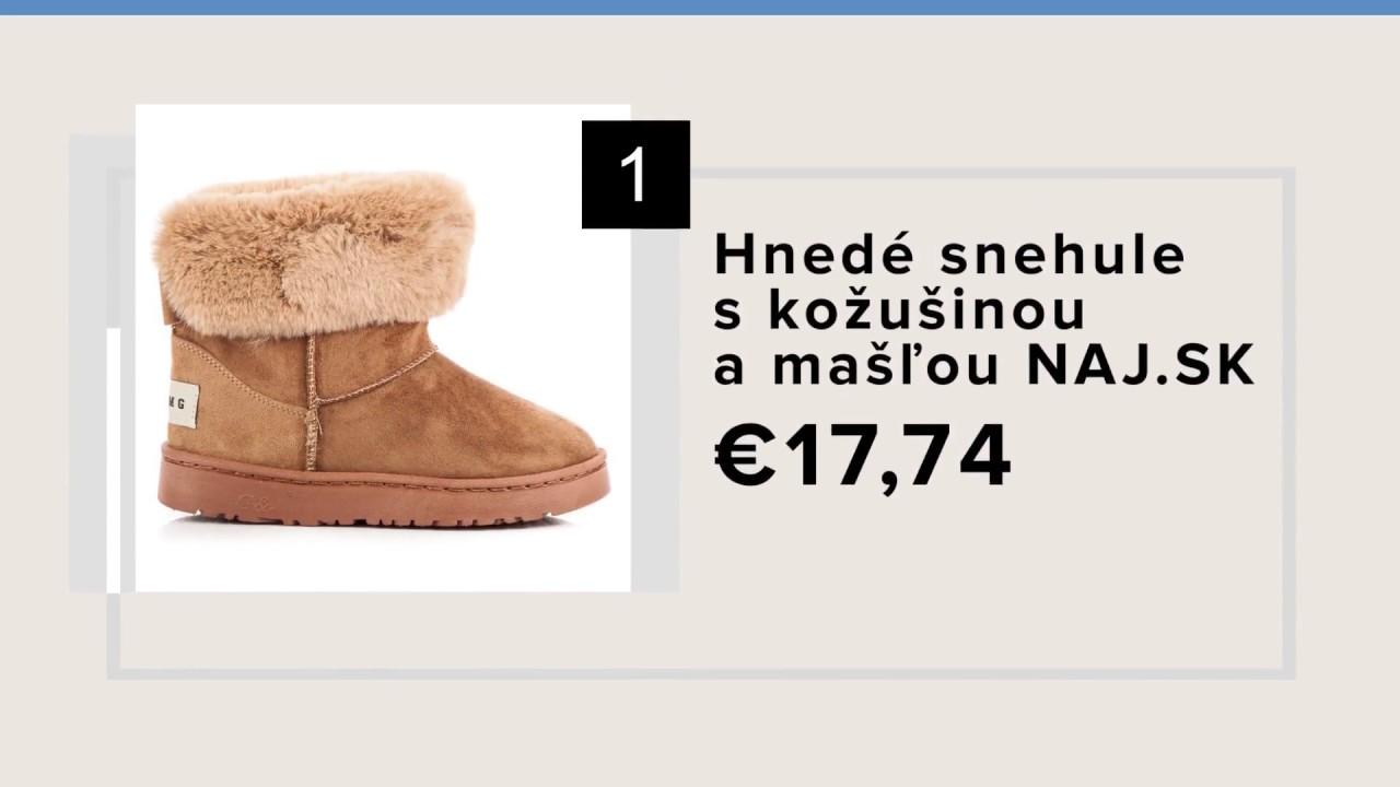 e45645b38 Topánky, zimné topánky, dámske topánky na zimu - NAJ.SK - YouTube