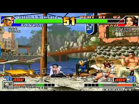 [SupARC] Old Black vs Cheng Long The King of Fighters 98