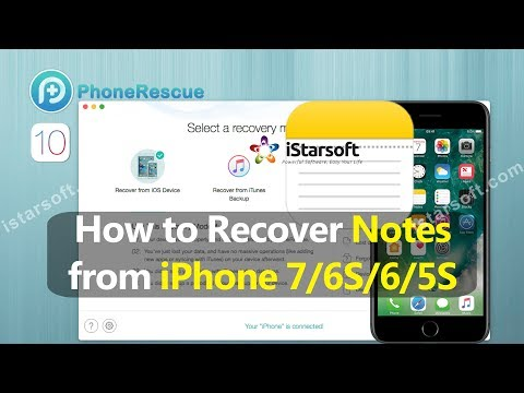 How To Recover Notes From Iphone 6s 5s With Ios