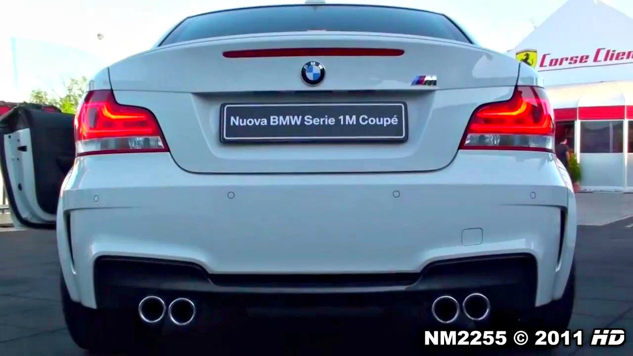 Bmw 1m Coup 233 Exhaust Sound Start Up And Full Details