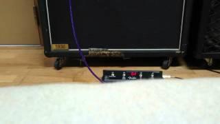 三味線にアコースティック用ピックアップMSP テスト演奏