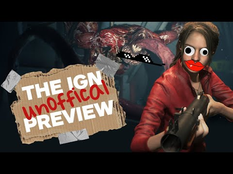 Resident Evil 2 - The Unofficial IGN Preview