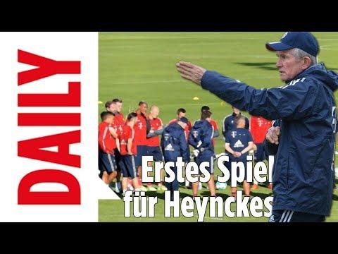 Bundesliga-Wochenende: Erstes Heynckes-Spiel - BILD Daily live 13.10.17