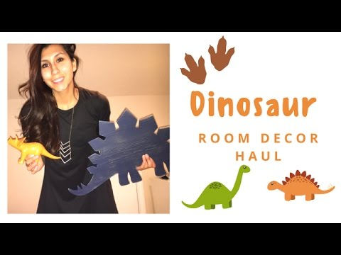UPDATED DINOSAUR ROOM DECOR HAUL!!! (Big Boy Room)