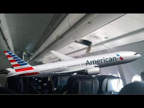Turbulence rocks American Airlines flight; South African Airways turbulence - Compilation