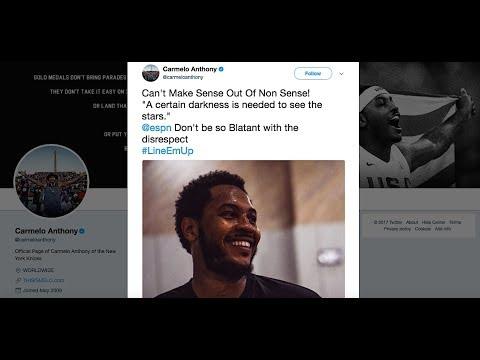 Carmelo Anthony Dismisses ESPN's Ranking (#64) As 'Nonsense'! [NBA Network]
