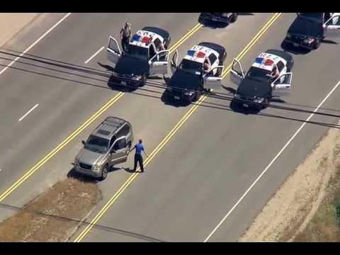 PCH DUI Chase Suspect Dances, Confronts Officers