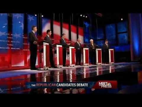 NBC New Hampshire GOP Debate (FULL) 01/08/2012