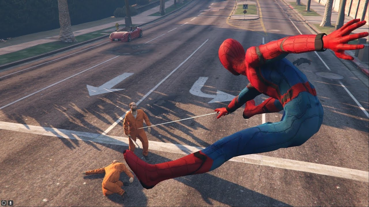 Gta 5 How To Download And Install Spiderman Script Free Mod By JulioNIB