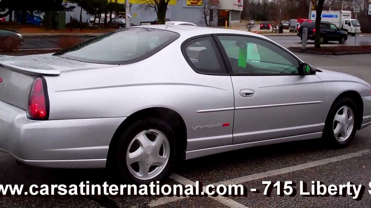 2000 Chevrolet MONTE CARLO SS COUPE 2DR 3.8L V6 AT - YouTube