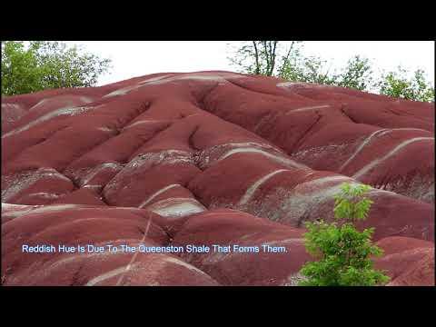 Ontario's Geological Wonder, Cheltenham Badlands, Caledon
