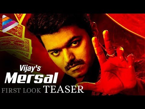 Vijay's MERSAL First Look Teaser | Motion...