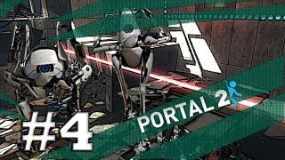 Portal 2 Co-op Bonus Map #4 Logistic Tower